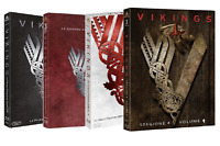 VIKINGS - SERIE 01-04 (12 BLU-RAY) SERIE TV WARNER HOME VIDEO