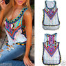 Sexy Women Summer Vest Sleeveless Crop Top Shirt Casual Tank Cami Blouse Tops