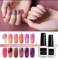 FOCALLURE Gel Mood Changing Nail Polish Thermal Color Change  21