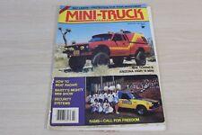 Mini-Truck Magazine February 1981 Towne's Arizona High Rams Call for Freedom