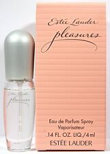 Estee Lauder Pleasures 0.14oz./4ml Edp Mini Spray For Women New In Box