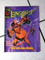 Longshot - Comic Magazin  von Bastei   Heft  3