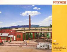 Vollmer 45758 ( 5758 ) H0 - Lokschuppen 6- ständig NEU & OvP