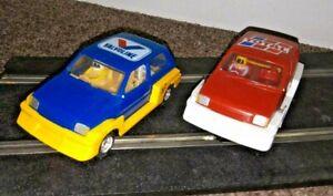 2 Scalextric Mini Metro Cars, C214, C215