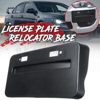 Front Black License Plate Relocator Base For Mitsubishi Lancer GTS EVO X 08-2018