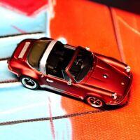 Timothy&Pierre TP 1:64 Scale Porsche 911 964 Targa Car Model Limited Matte Red