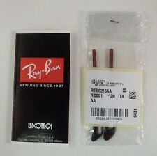 Authentic RAYBAN Brown Temple Tip Replacements RB3025 Aviator RB3362 3447 RB3136