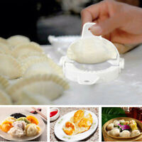 3Pcs Plastic Chinese Dumpling Mould Dough Empanada Press Maker Mold Home Kitchen