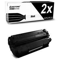 2x PRO Toner für Canon PC-D-340 PC-D-320 Laser Class 510 I-Sensys Fax L-380-S