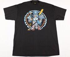 Vtg Marshal Rock T-Shirt XL Rock & Rule Movie cheap trick blondie Iggy Pop