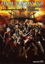 FINAL FANTASY REISHIKI TYPE-0 Ultimania PSP Game Guide Book Japan New