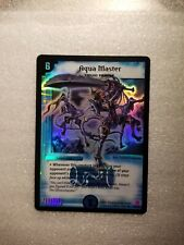 Duel Masters AQUA MASTER S2/S5 Mint and Never Played RARE!