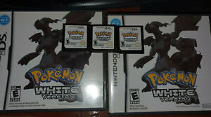 Pokemon White - Authentic - CIB Complete Loose Manual Cartridge Case NDS