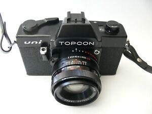 TOPCON UNI black mit UV Topcor 2/53mm mit Gurt und Tasche (funktioniert)