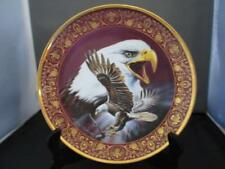 """Royal Doulton 8"""" Eagle Collectors Plate ~Freedom's Glory ~Franklin Mint ~ New"""