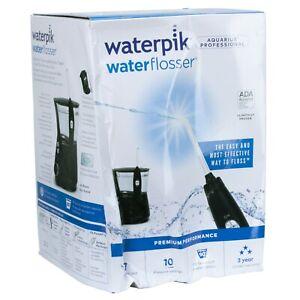 Waterpik Water Flosser, Aquarius Professional, Black, WP-672C