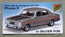 FORD XW FALCON 351 GTHO PHASE 2 1970 brochure card 1/24 TRAX SuperScale diecast