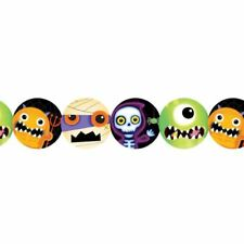 Boo Crew Monster Printed Paper Garlands 2.4m Halloween Party Decorations