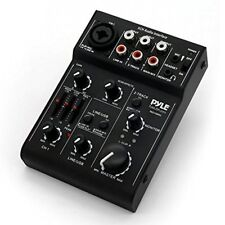 3-Channel USB Audio/Sound Mixer Recording Interface w/ Rechargeable Battery