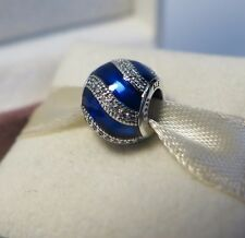PANDORA Nuova Originale Blu Ornamento Ciondolo 791991EN118