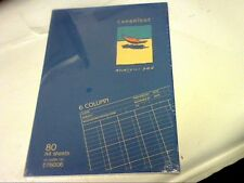A4 6 Col DRG-CAMBRIDGE ACCOUNTS PAD 80 sheet/OFFICE/HOME+FOR DAILY USE-UK MADE