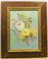 Abstrakte künstlerische Malerei-Blumen Frankreich