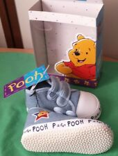 NEW Winnie the Pooh Licesnsed Baby Boys Pre-Walker Shoes Size 4 (9myhs-12mths)
