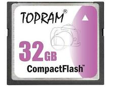 TOPRAM 32GB CF 32G CF 300X COMPACT FLASH 32 G CF card fit SONY CANON Camera