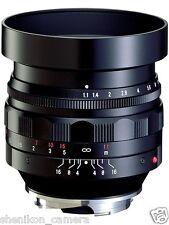 100% New Unused Voigtlander NOKTON 50mm F1.1 Leica M M9 Noctilux Voigtlaender