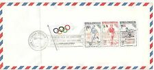 Finland Paavo Nurmi on Dominican Rep. FDC Olympic Games 1957 block
