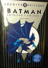 Batman DC Comics Deluxe Archives Volume 1 Hardcover Book .