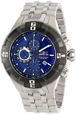 Invicta Mens Reef Pro Diver XXL Chronograph Black Bezel Blue Dial Watch 12365