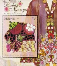 Baba & Nyonya Heritage Malaysia 2013 Costume Wedding (MS) MNH *Die Cut *unusual