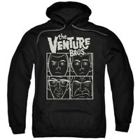 THE VENTURE BROS VENTURE Licensed Adult Hooded and Crewneck Sweatshirt SM-5XL