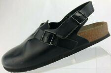 Birkenstock Slingback Sandals Tokio Black Closed Toe Walking Shoes Womens US 8