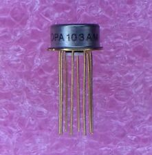 OPA103AM BURR-BROWN IC OPAMP GP 1MHZ SGL TO-99 8PIN 1 PIECE