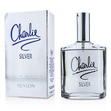 NEW Revlon Charlie Silver EDT Spray 100ml Perfume