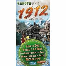 Days of Wonder Ticket to Ride Europe 1912 Expansion