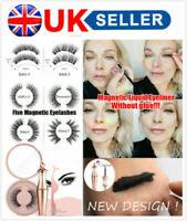 Easy to Wear Magnaetic liquid Eyeliner and Magnetic False Eyelashes Lashes Set