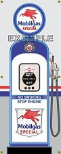 MOBIL SPECIAL PEGASUS RETRO GAS PUMP GAS STATION BANNER GARAGE SIGN ART 2 X 5