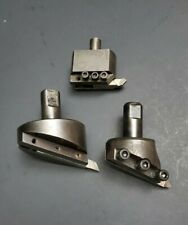 """Fly Cutter Lot 2½"""" 2"""" Railmike's ½"""" & ¾"""" Sh. Machinist Face Milling Mill Boring"""