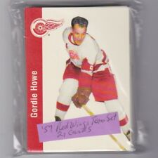 1956/57 PARKHURST MISSING LINK DETROIT RED WINGS TEAM SET  21 CARDS- HOWE,KELLY