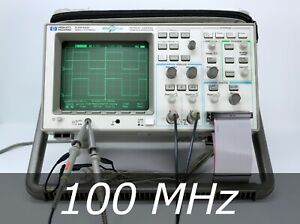HP / Agilent 54645D Mixed Signal Oscilloscope 100MHz 2 + 16 Chan. Probes. Clean
