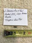 J Stevens Arm Tool Model 235 Hammer Db 12 Ga. Triggers Axle Pin