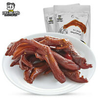 108g x 2 Bags ZHOUHEIYA Duck Feet Chinese Famous Snack Food 周黑鸭鸭掌麻辣甜口味中国特产零食小吃
