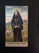 Art. 1202   SANTINO FUSTELLATO - Santa Francesca Saverio Cabrini