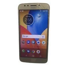 New listing Motorola Moto E4 Plus 32Gb Xt1775 (Gsm Unlocked) Smartphone CrckdGlss (B-87)