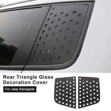 Car Triangular Window Glass Decor Cover Trim for Jeep Renegade 2016+ Accessories