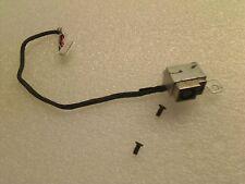 Compaq Presario CQ57 HP 2000 DC Power Jack Cable Bracket & Screw 350714L00-600-G