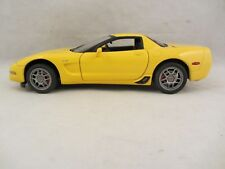 Franklin Mint  , LE -  2003 Corvette Z06 with Tag  Yellow  VGC 1:24 scale (318)